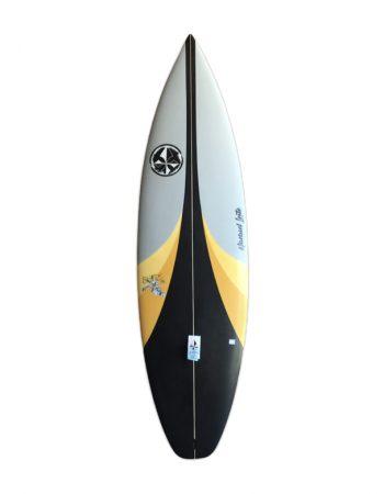 surfboard black line
