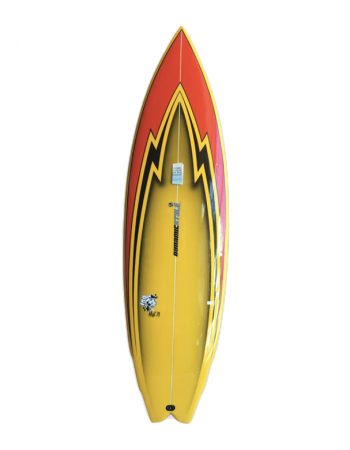 shortboard yellow